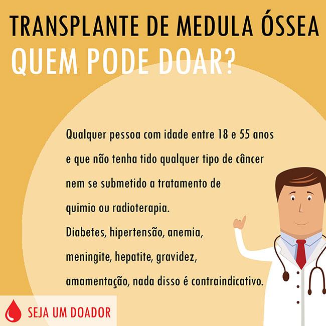 Transplante de Medula Óssea - Quem pode doar?