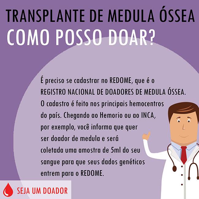 Transplante de Medula Óssea - Como posso doar?